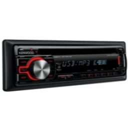 Автомагнитола Kenwood KDC-W4044UAY Black-Red/Blue