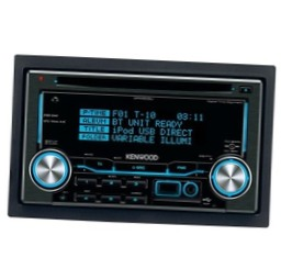 Автомагнитола Kenwood DPX-503UY Black/Blue